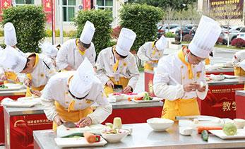 厨师培训学校上课场景